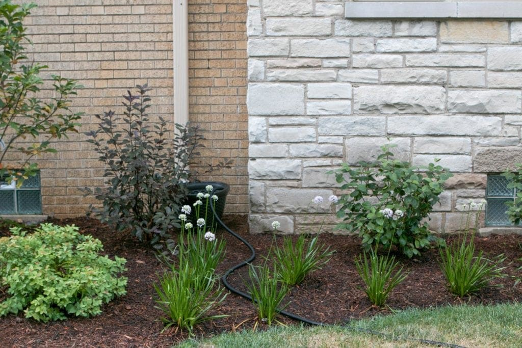 how to hide a hose for increased curb appeal
