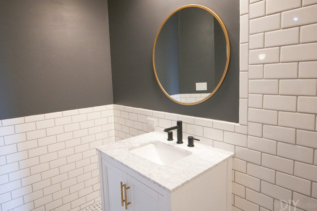 tutorial how to hang a bathroom mirror the diy 26372