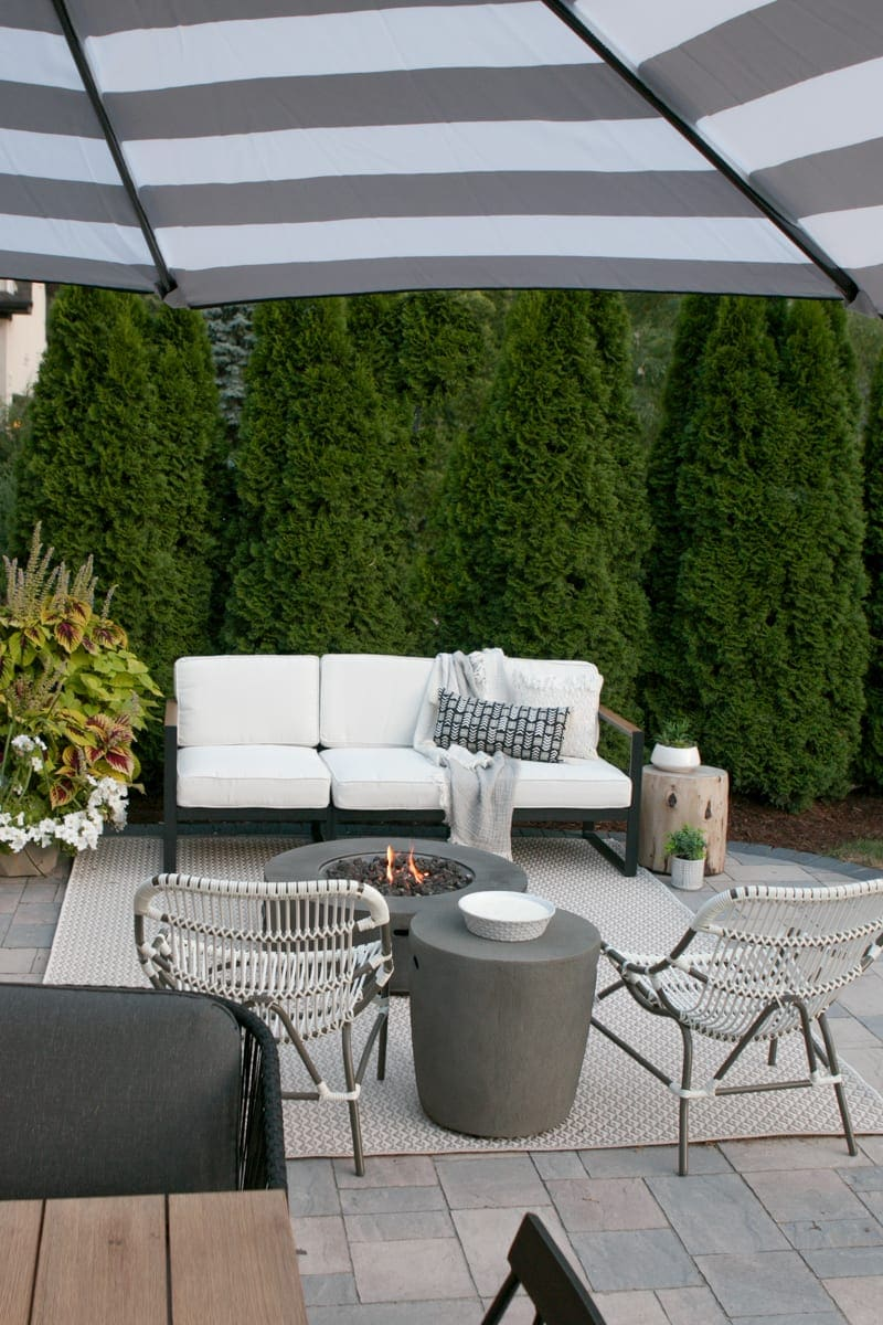 How To Hide A Propane Tank From Your Patio S Fire Pit The Diy Playbook