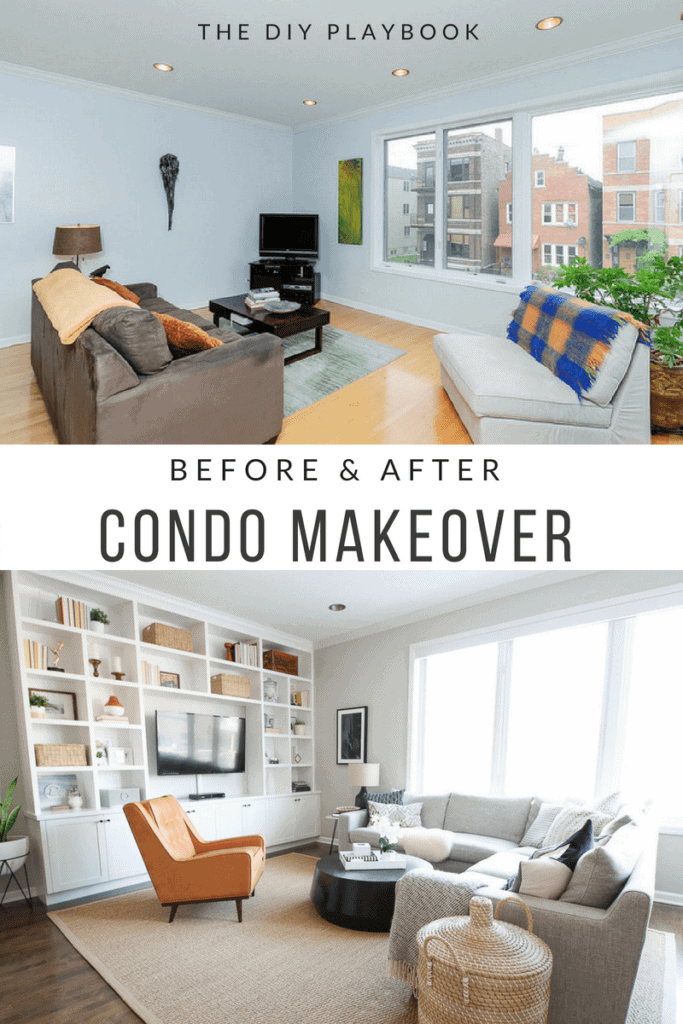 A Chicago condo before and after makeover