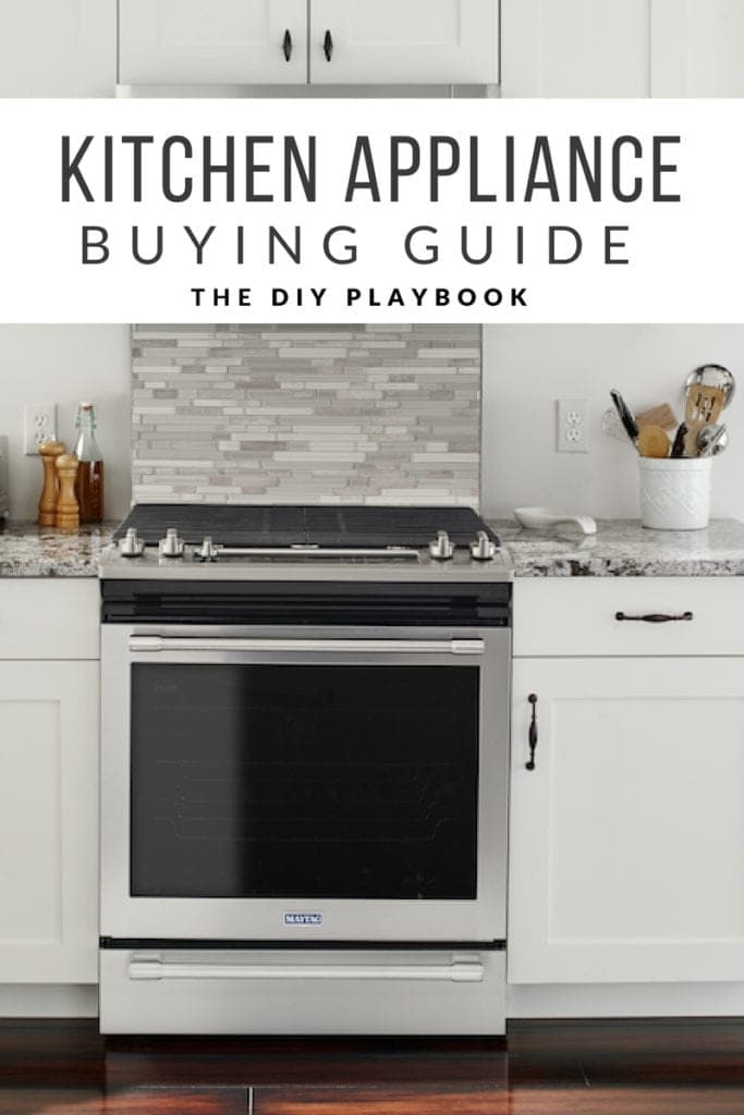 A guide for buying kitchen appliances