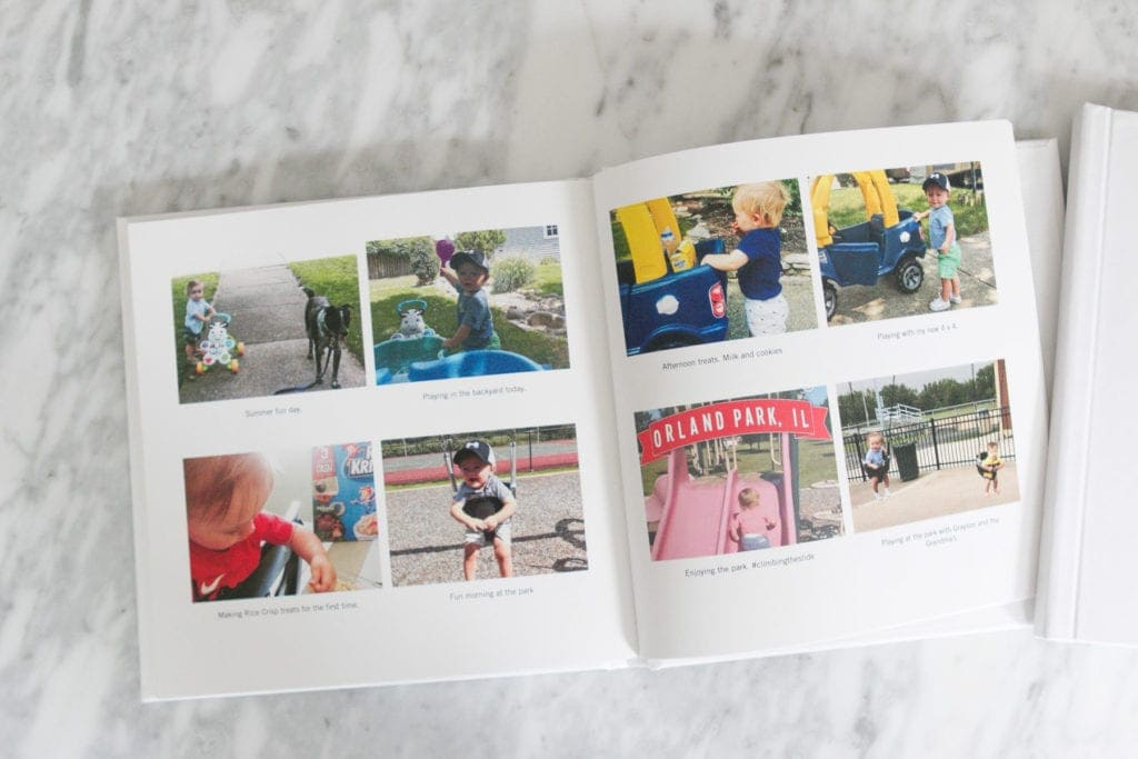 making a family instagram book