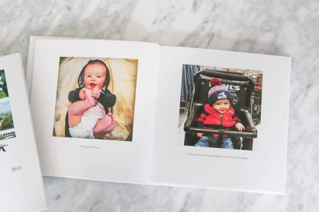 family instagram yearbook