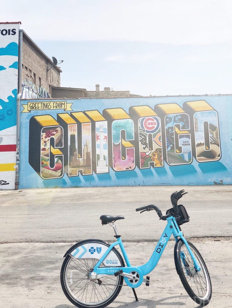 welcome to chicago mural
