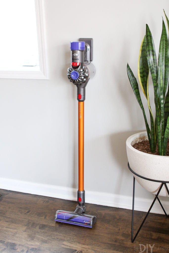 Cordless Dyson V8 vacuum