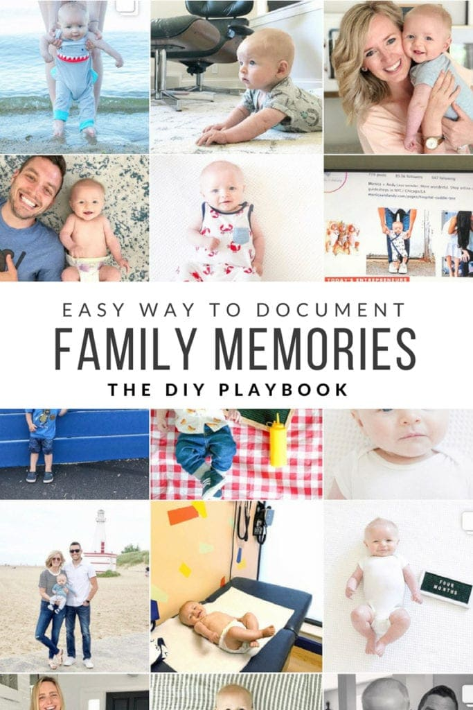 easy ideas to document family memories