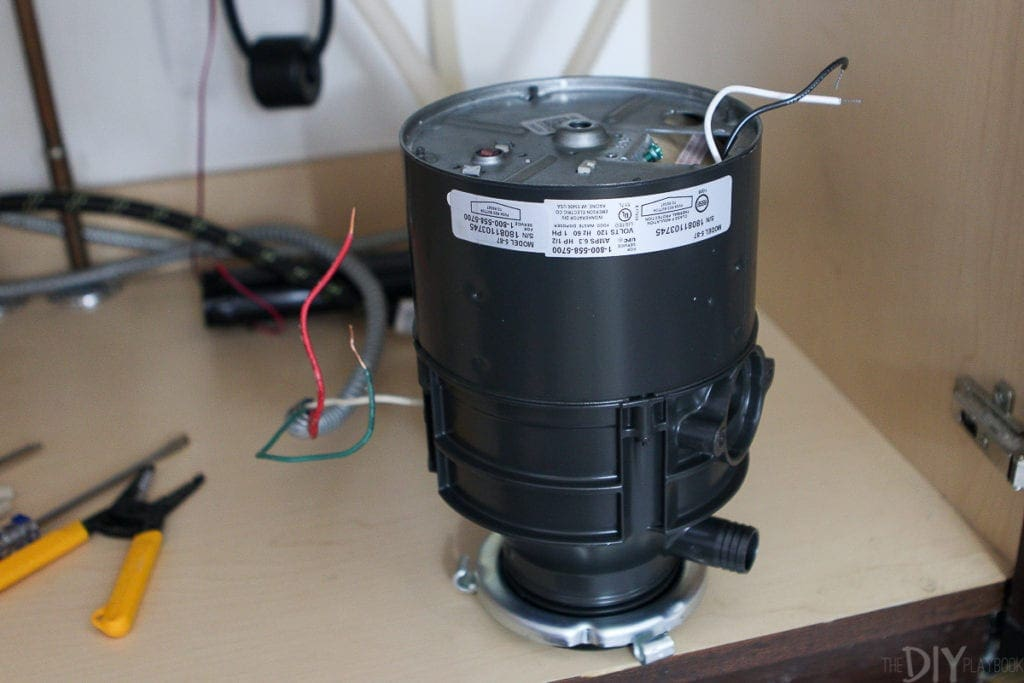 How to wire a new garbage disposer