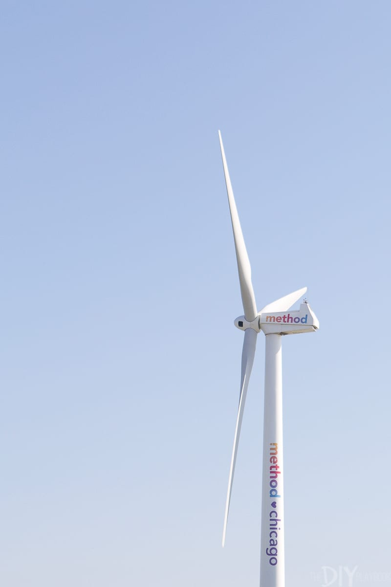 wind turbine powers the method factory