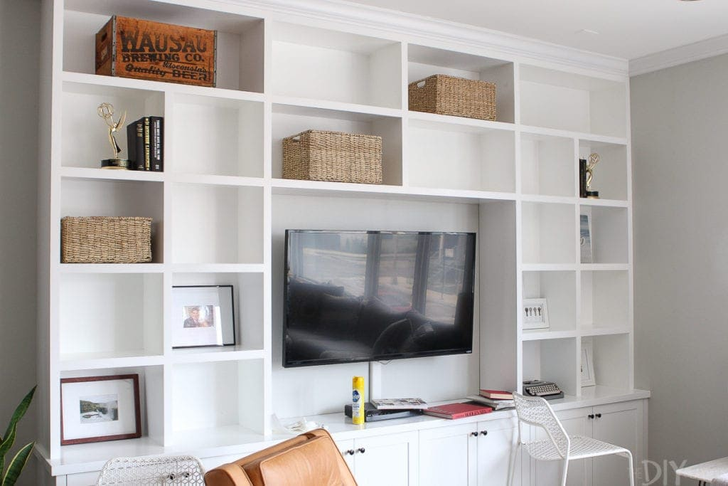 Slowly add items back in as you decorate your home