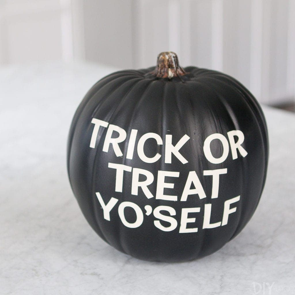 How to make a letterboard pumpkin
