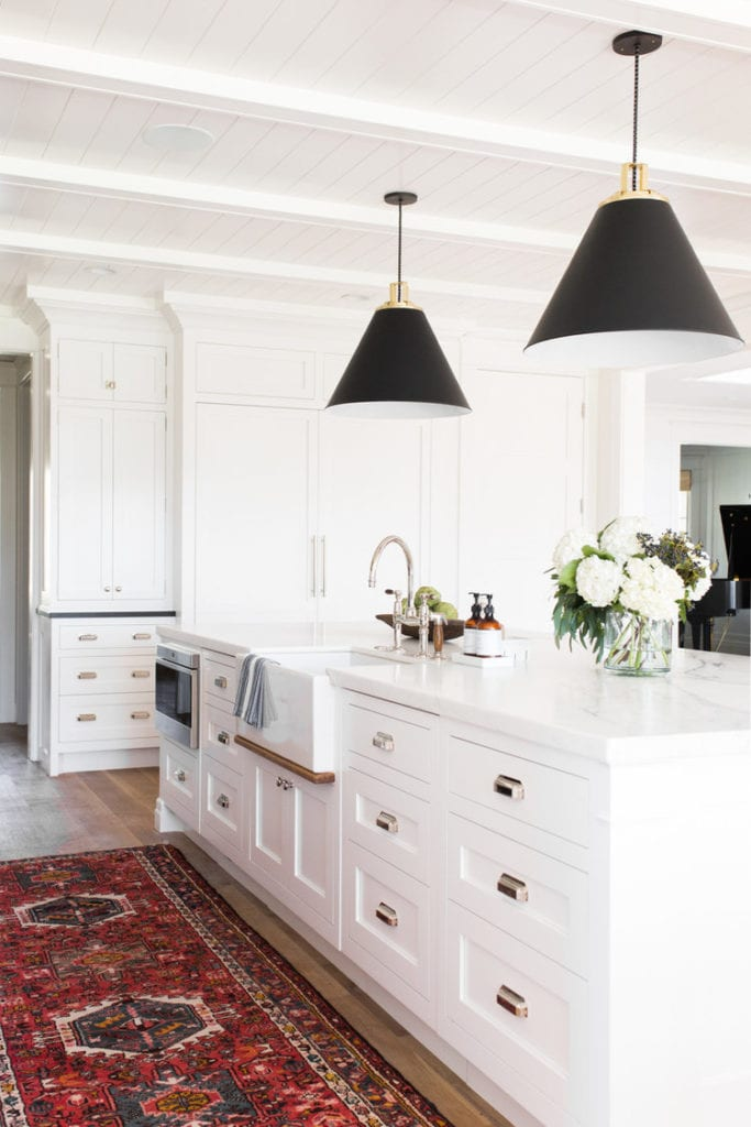 kitchen inspiration and ceiling paneling by studio mcgee