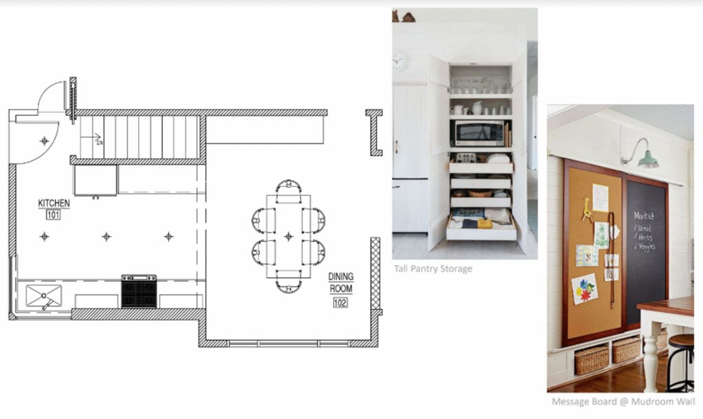 New Kitchen Layout Option #1