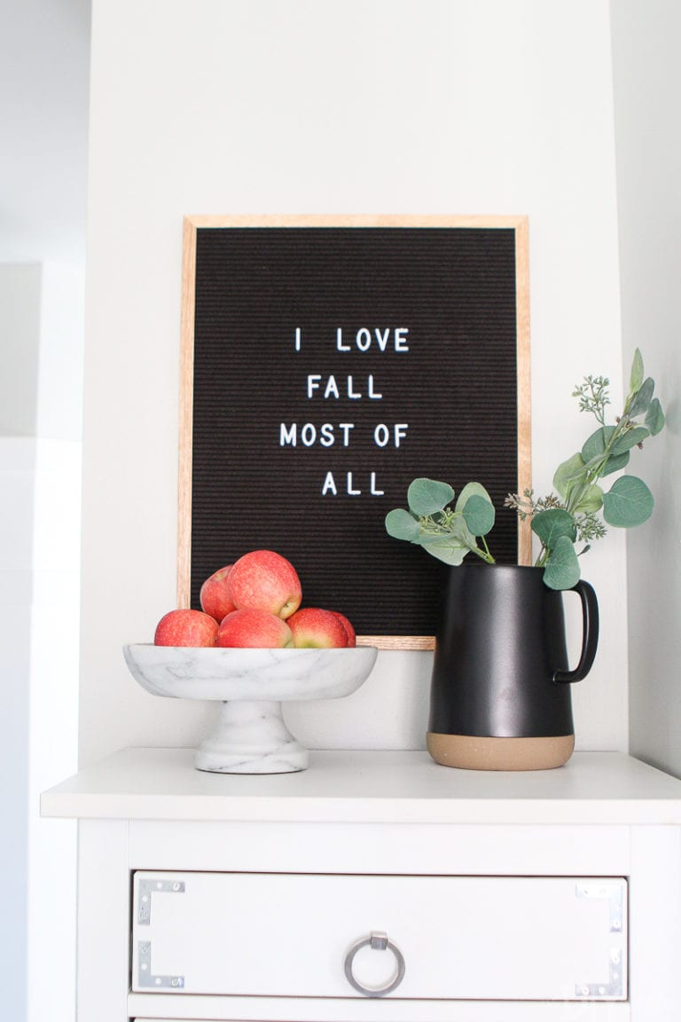 My favorite fall home projects