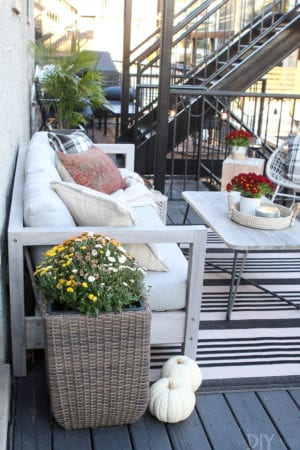Our Cozy Fall Patio