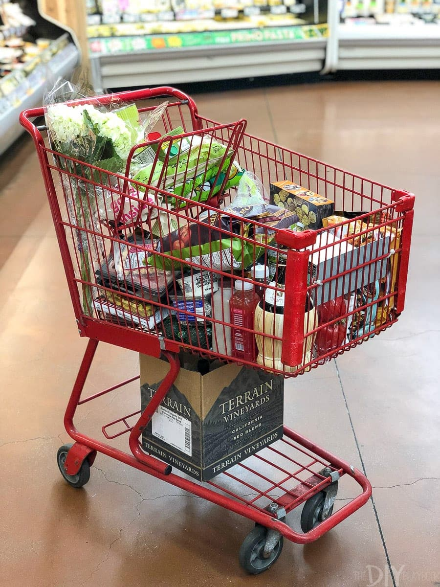 Trader joe's shopping cart