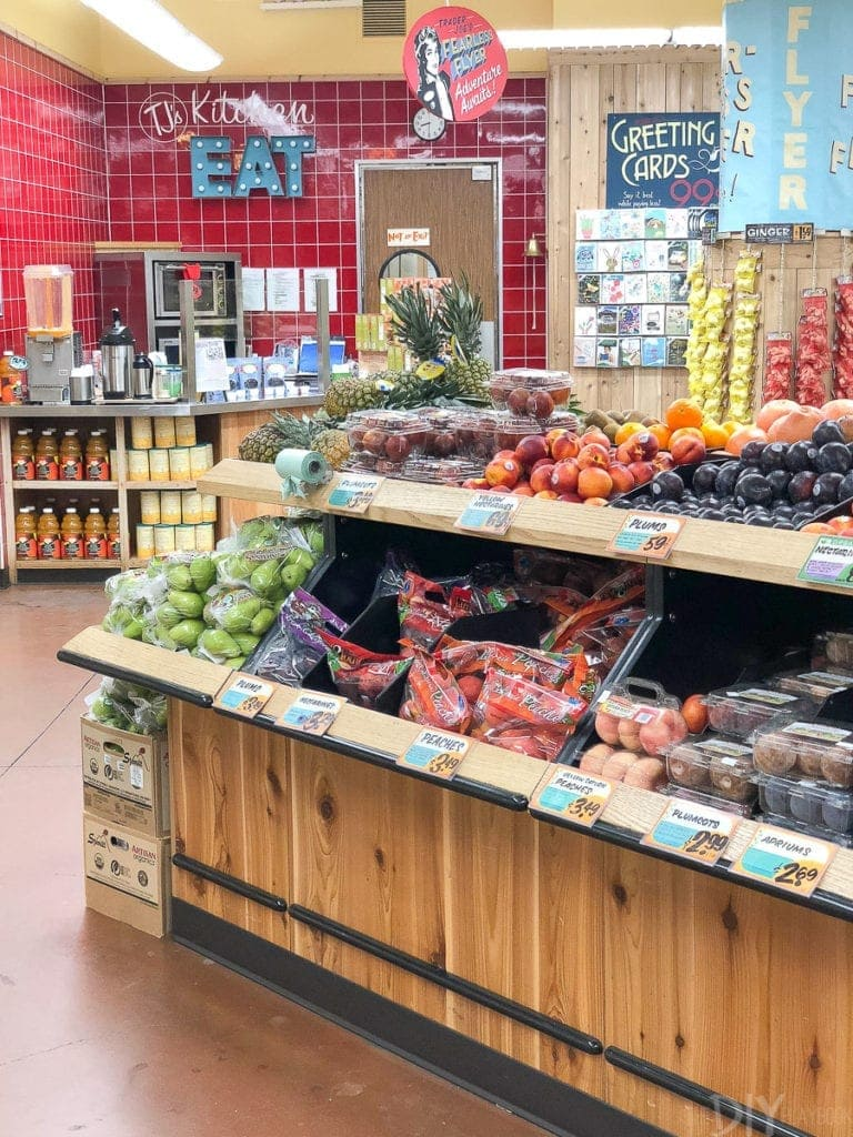 the produce area of Trader joe's
