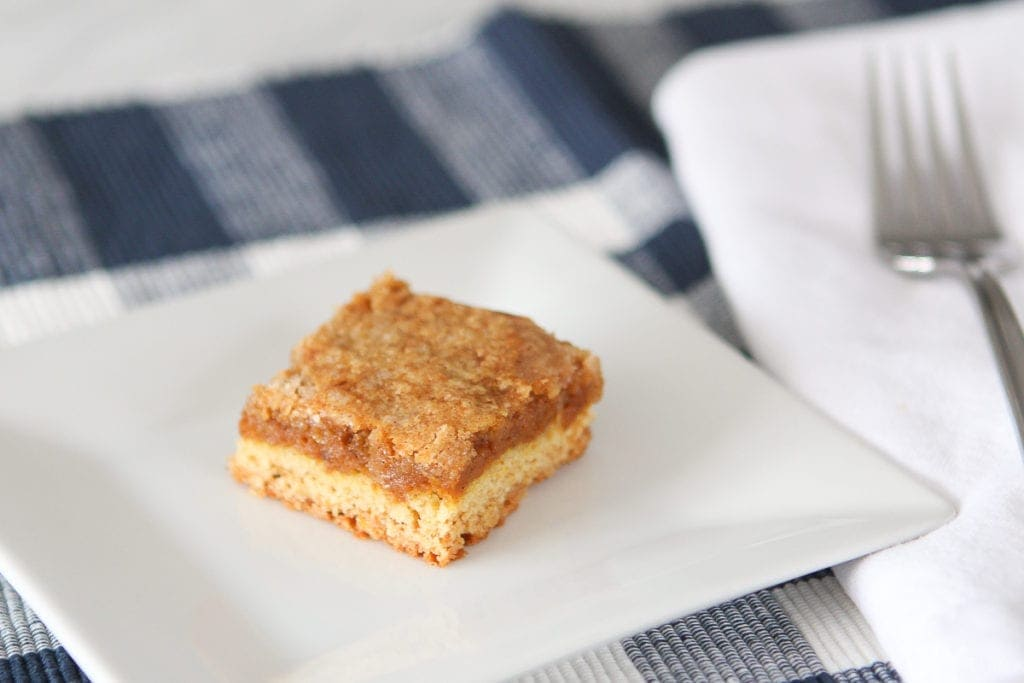 Recipe for pecan pumpkin bars