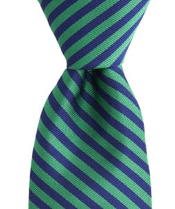 striped silk tie for wedding anniversary gift