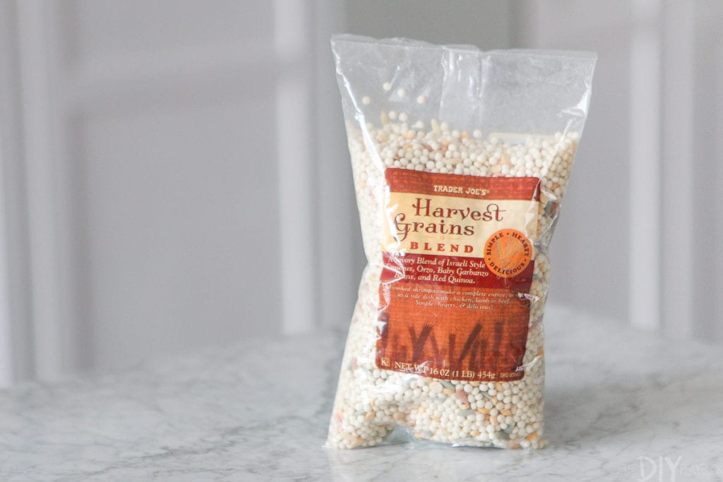 harvest grains blend from trader joe's