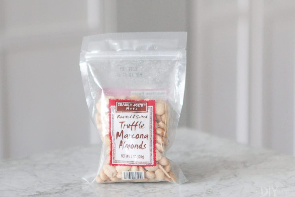 truffle marcona almonds from trader joe's