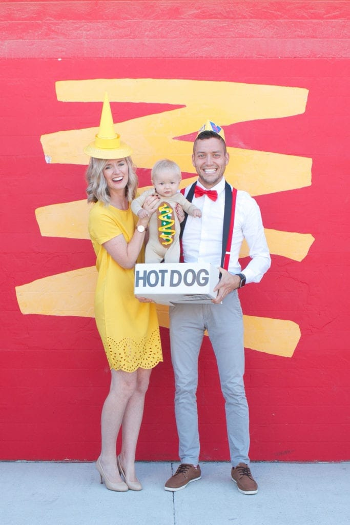 family hot dog costume
