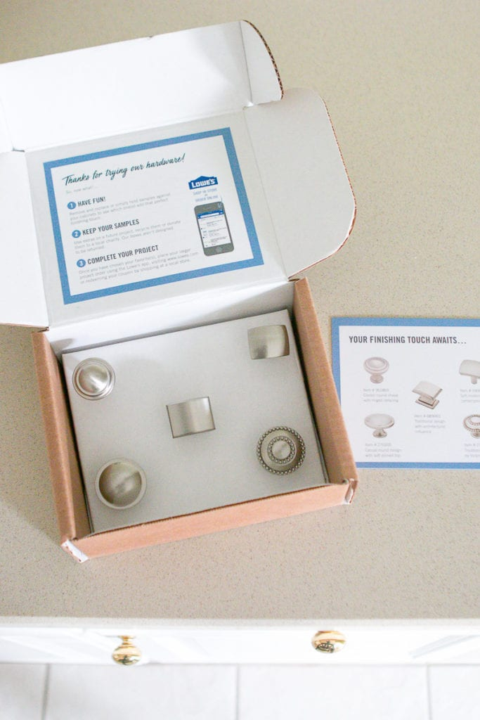 Liberty Hardware Sample Box Knobs - how to choose new hardware