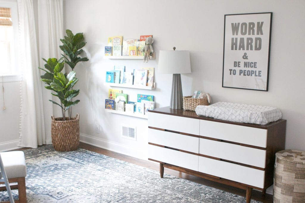 nursery dresser tips and tricks for organizing