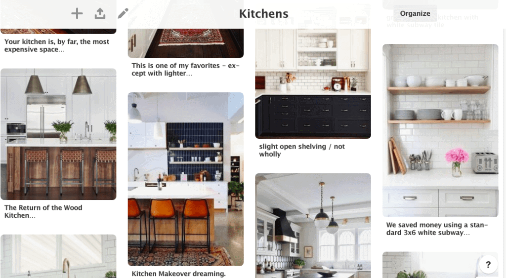 kitchen pinterest inspiration from the DIY Playbook