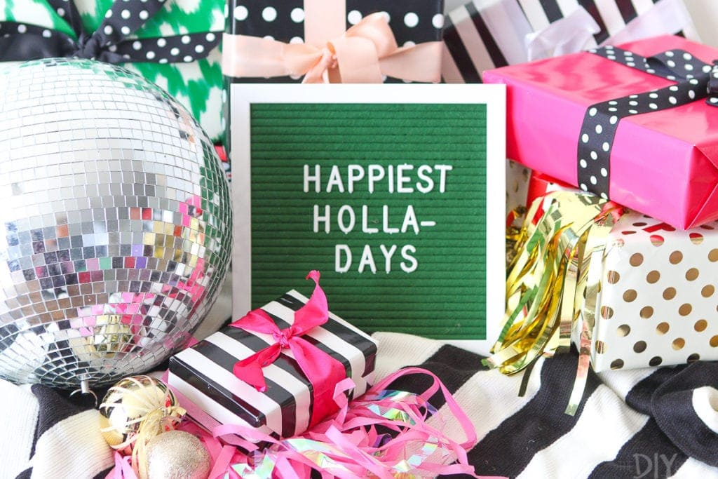 Happiest holla-days