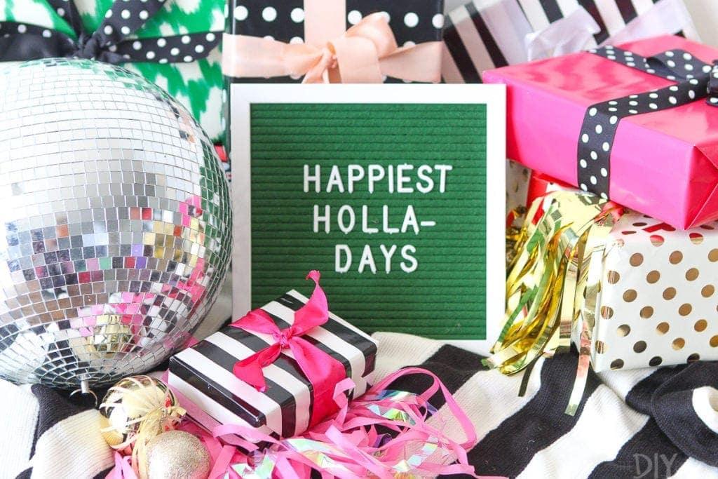 Happiest holla-days