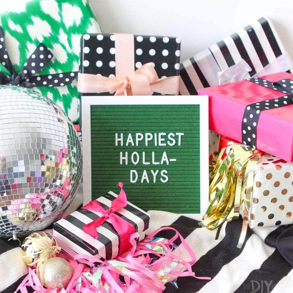 Happiest holla-days!