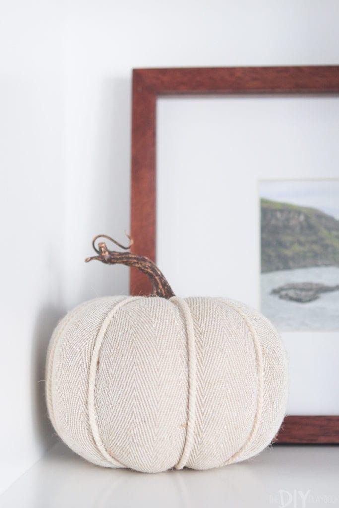 Knit pumpkin from target