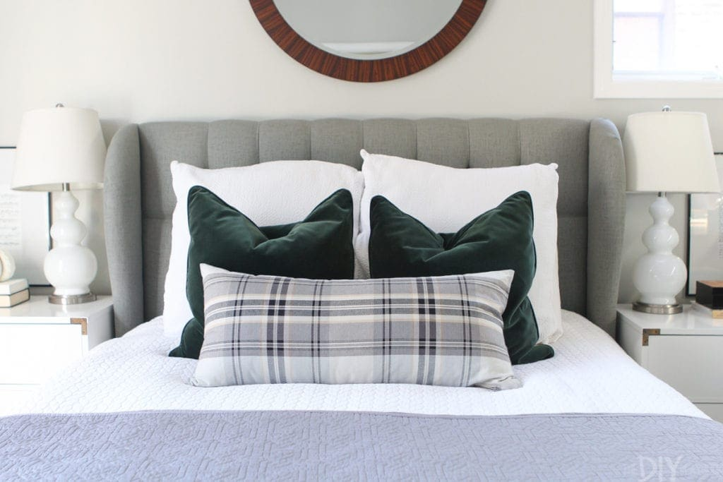 Plaid lumbar pillow from Tonic Living