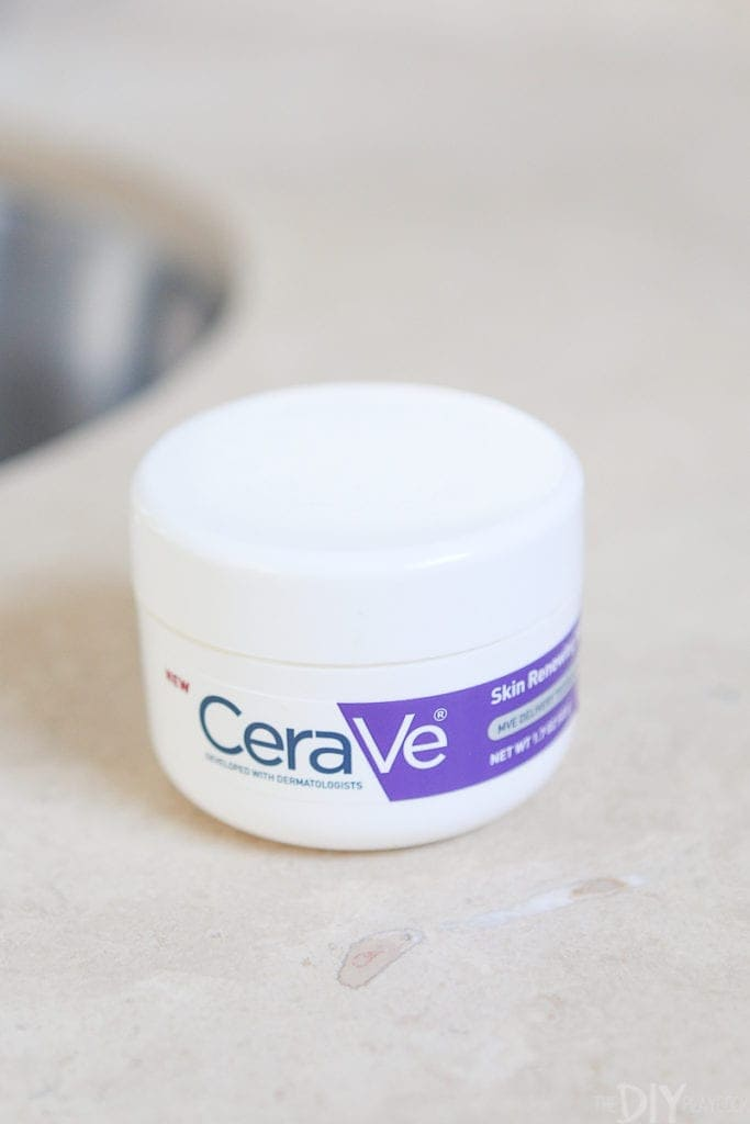 Cerave night cream as a clean beauty product