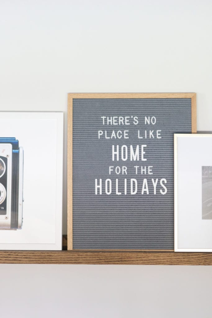 There's no place like home for the holidays home tour