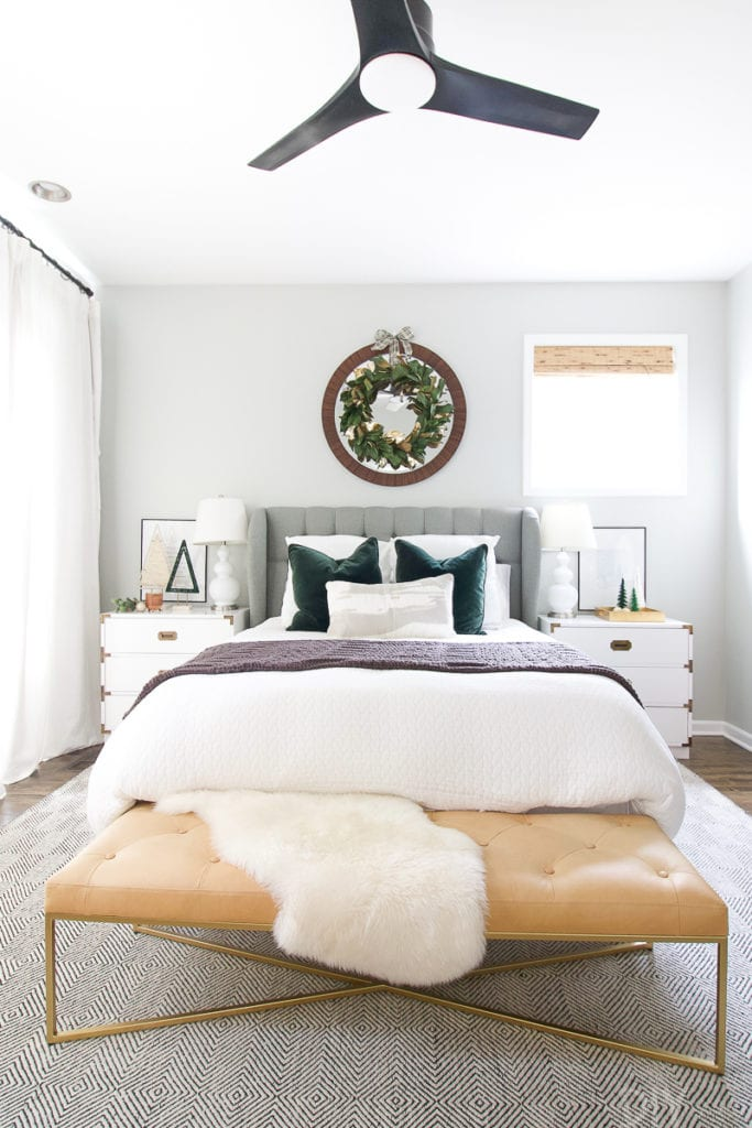 Holiday master bedroom