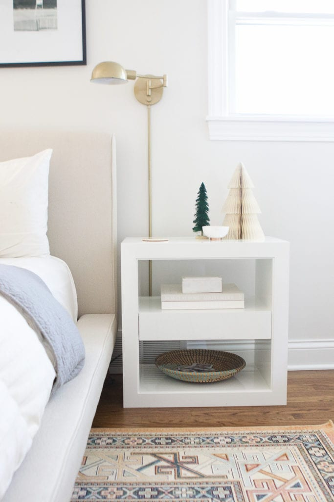 using west elm decor to decorate for the holidays