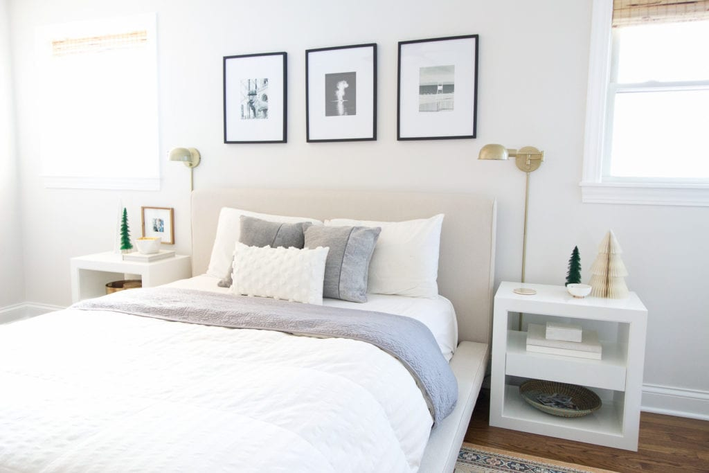 simple tips for holiday decorating in the bedroom