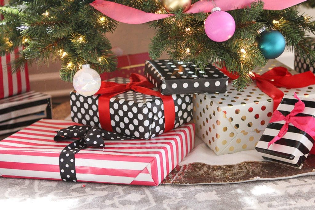 Coordinate your wrapping paper with your tree!