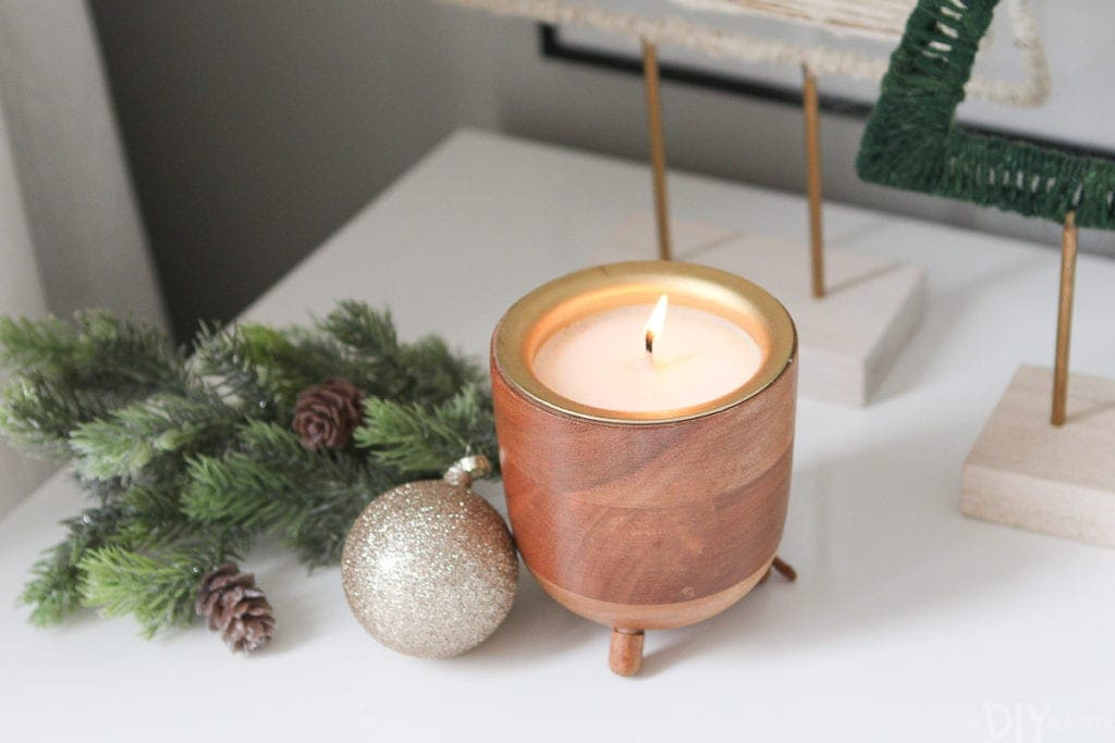 Rewined pinot noir candle from West Elm