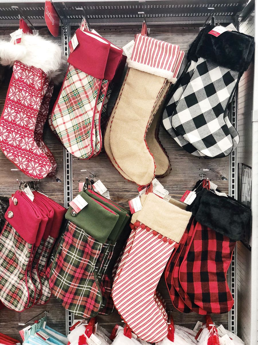 Christmas Stockings at Michaels
