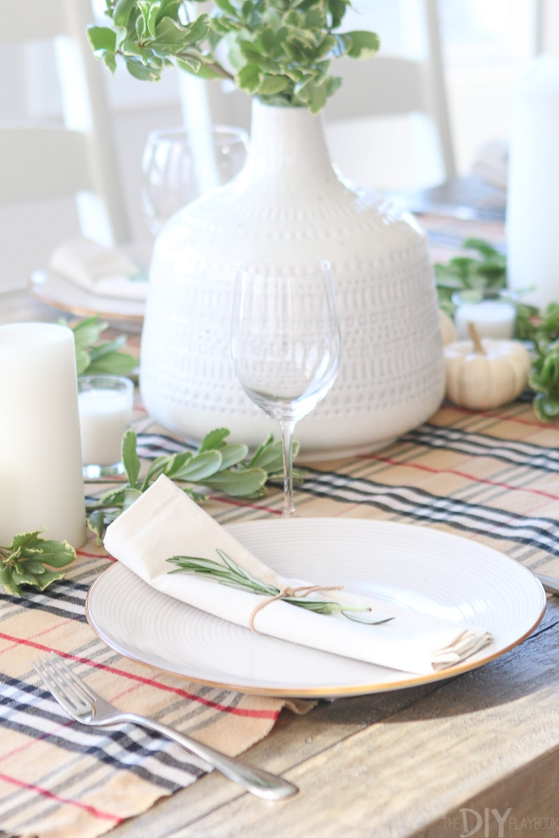 How to make a Thanksgiving tablescape