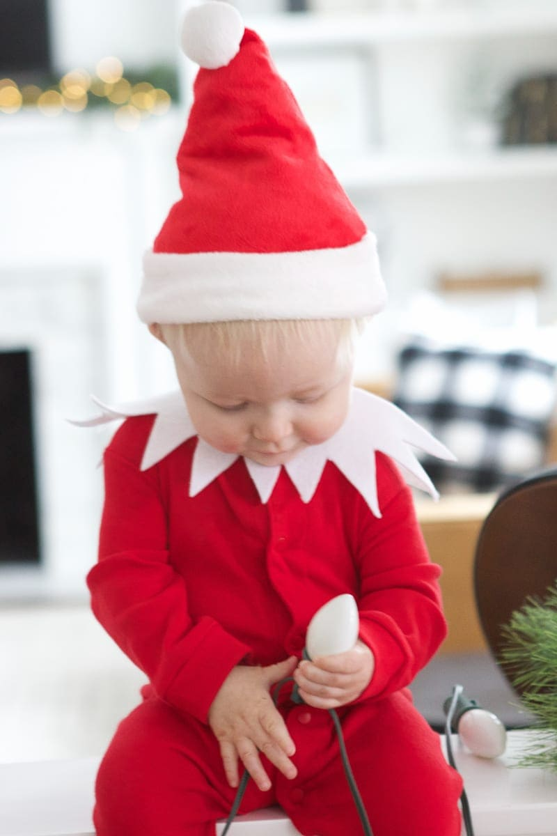how to take elf on the shelf baby photos