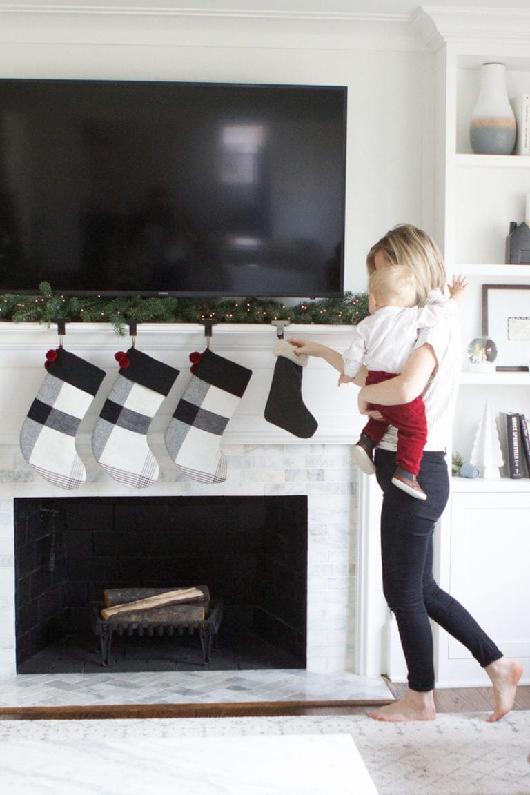 gearing up for baby #2 with a baby stocking