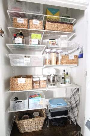 My Mom's New Organized Pantry