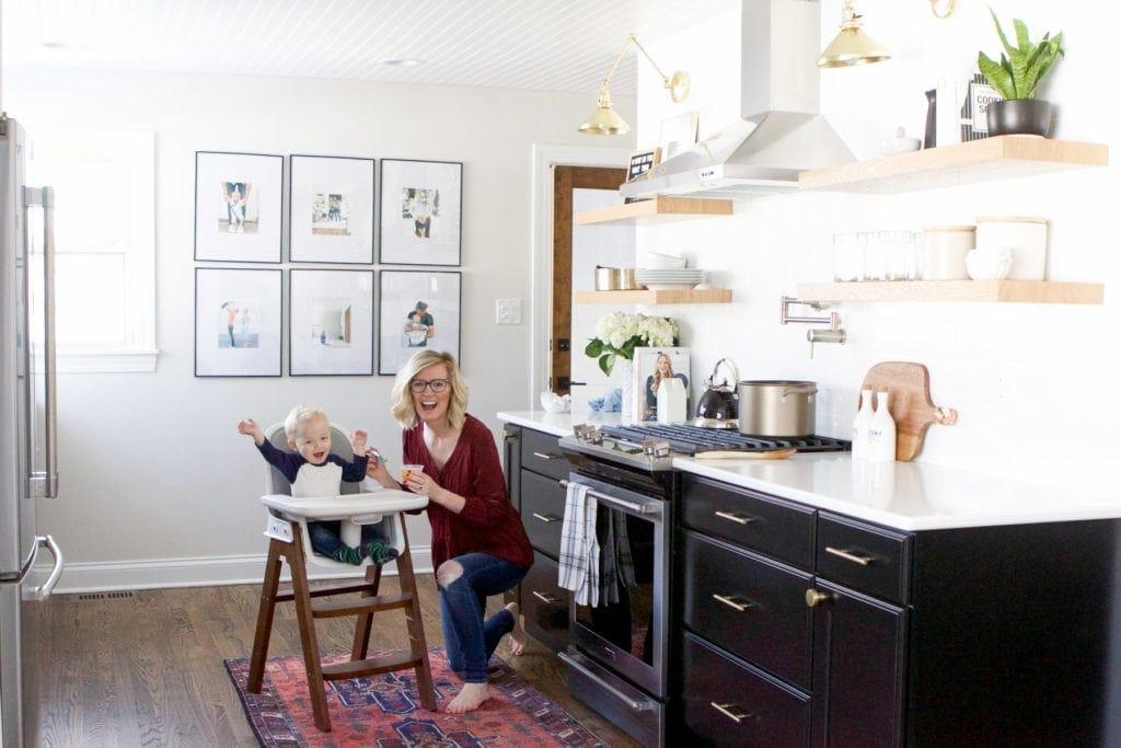 saving money by making baby food