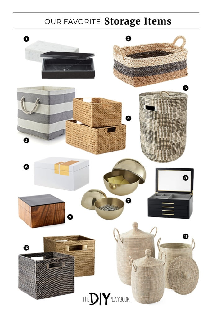 Our favorite storage baskets to get organized