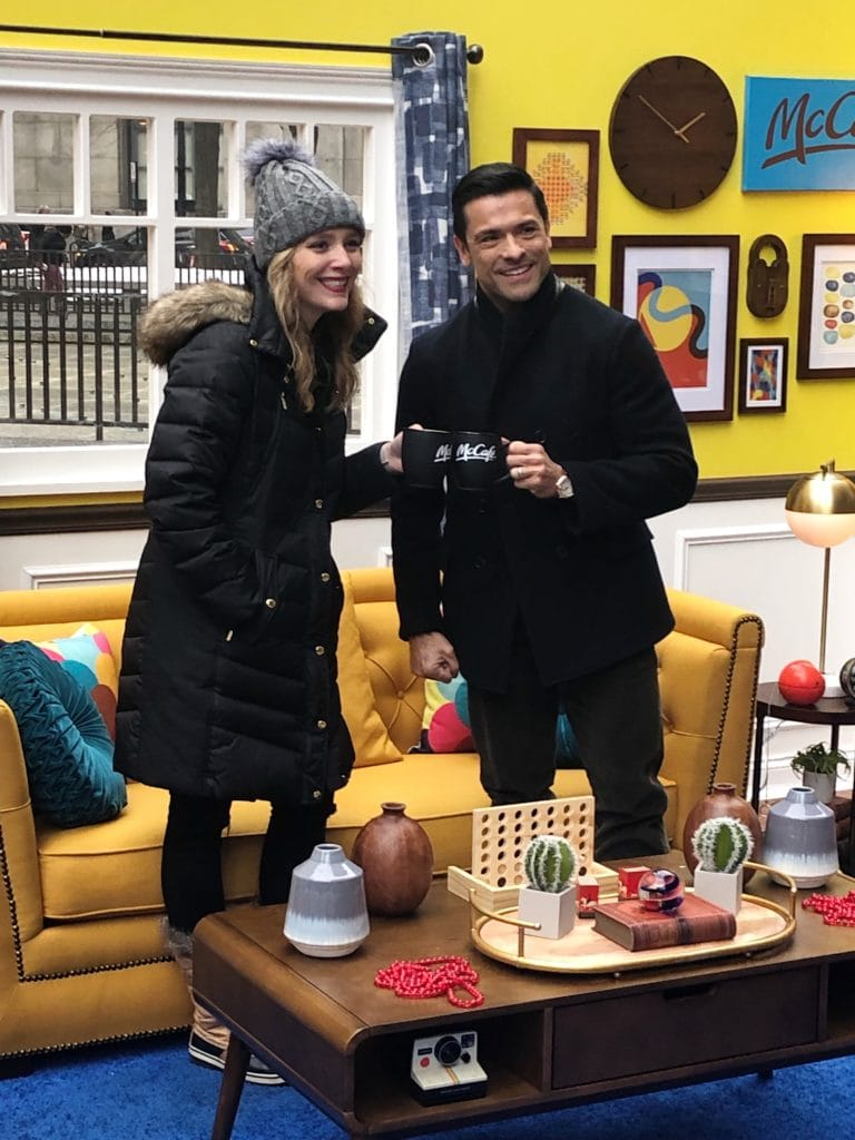 Meeting Mark Consuelos