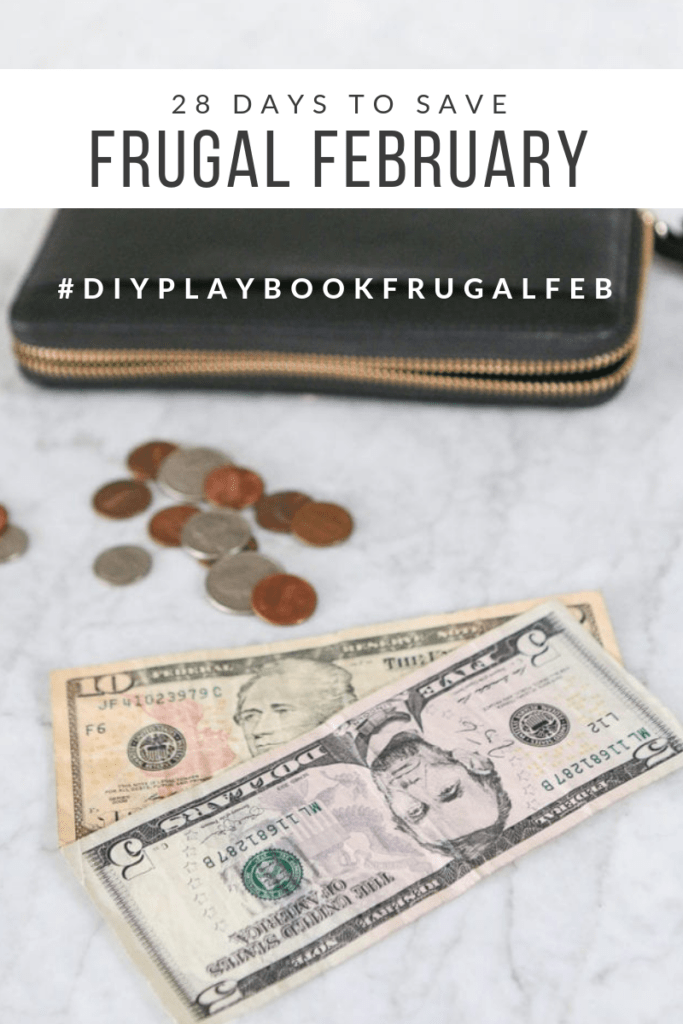 Frugal February 2019 with The DIY Playbook