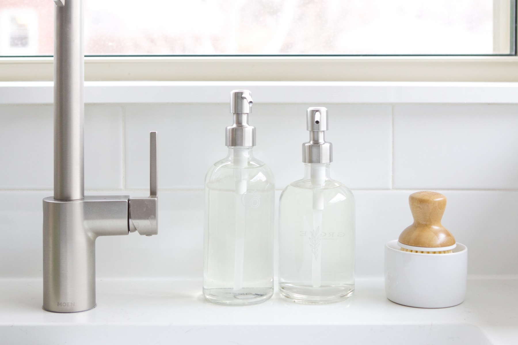 Cut soap dispensers